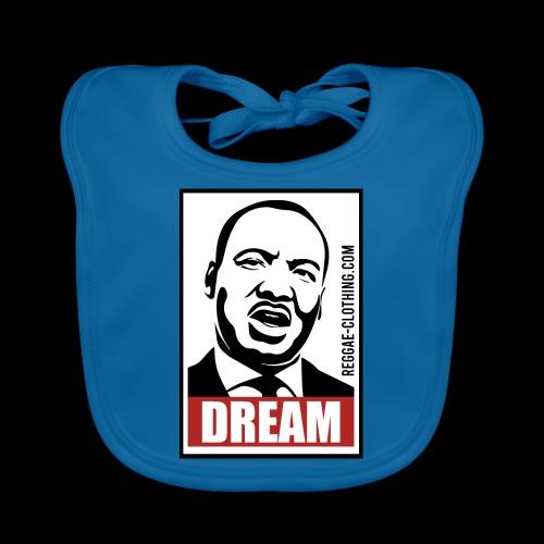 DREAM - Martin Luther King - Baby Bio-Lätzchen
