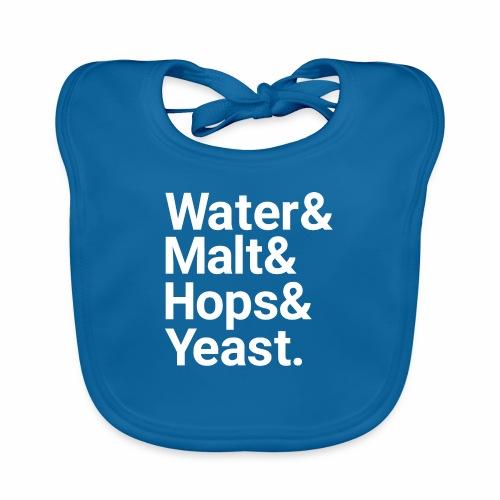 Water,Malt,Hops & Yeast - Organic Baby Bibs