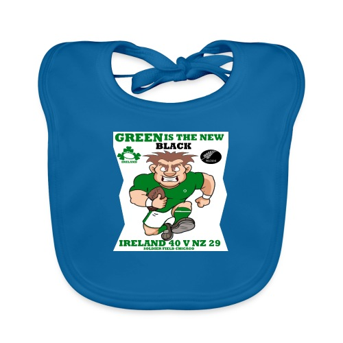 GREEN IS THE NEW BLACK !! - Organic Baby Bibs