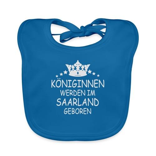 Saarland Königin T-Shirt - Baby Bio-Lätzchen
