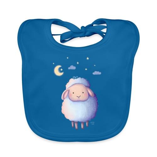 Gute Nacht, kleines Schäfchen - Baby Bio-Lätzchen