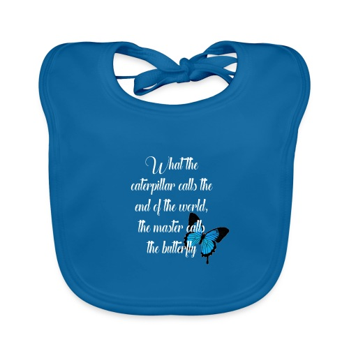 The butterfly - Organic Baby Bibs