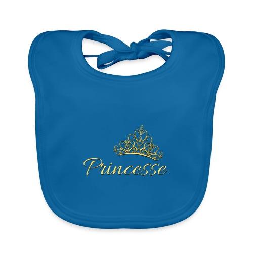 Princesse Or - by T-shirt chic et choc - Bavoir bio Bébé