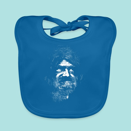Old Guy, Eyes Open. - Organic Baby Bibs