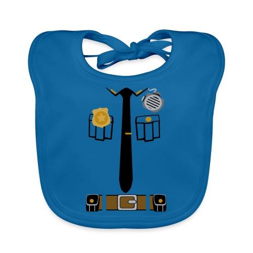 Police Patrol Costume - Organic Baby Bibs