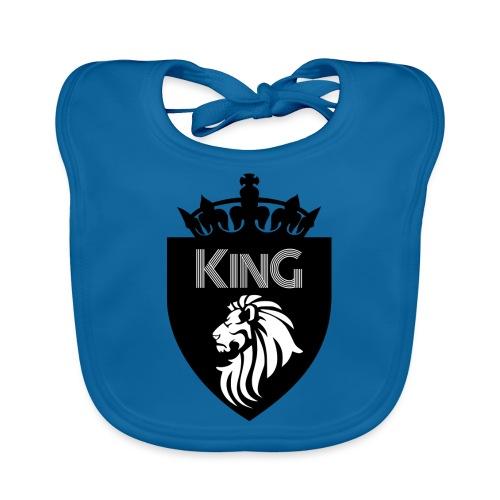 king - Bavoir bio Bébé