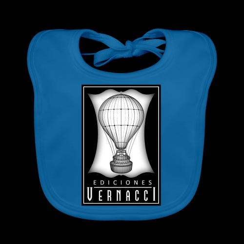 logotipo de ediciones Vernacci - Babero de algodón orgánico para bebés