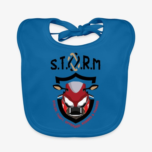 Stolen Theft Offended Robbed Mugged - Baby Organic Bib