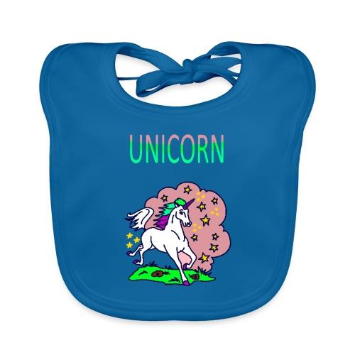 Einhorn unicorn - Baby Bio-Lätzchen