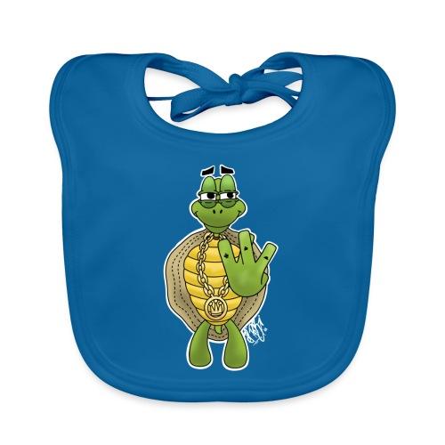 West Coast Schildkröte / Hip-Hop Turtle - Baby Bio-Lätzchen