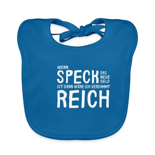 Sympathisches Shirt für Dicke Speck die neue Geld - Baby Bio-Lätzchen