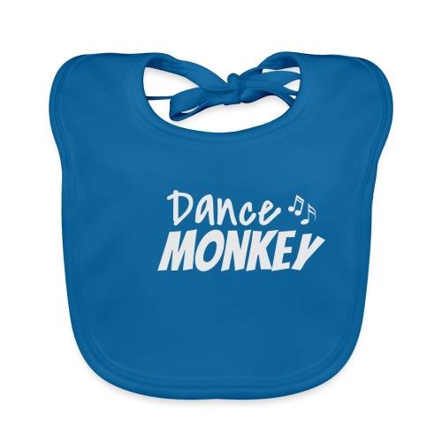 Dance Monkey Party T-Shirt zum tanzen gehen - Baby Bio-Lätzchen