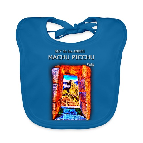 SOJA de los ANDES - Machu Picchu I - Babero de algodón orgánico para bebés