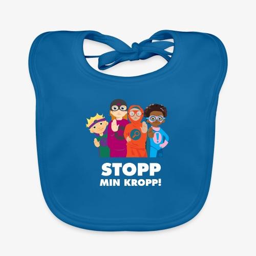 Stopp min kropp! - Ekologisk babyhaklapp