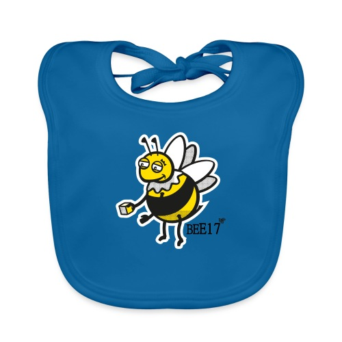Teeny Tiny East End Bee - Baby Organic Bib