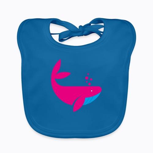 whale - Baby Organic Bib