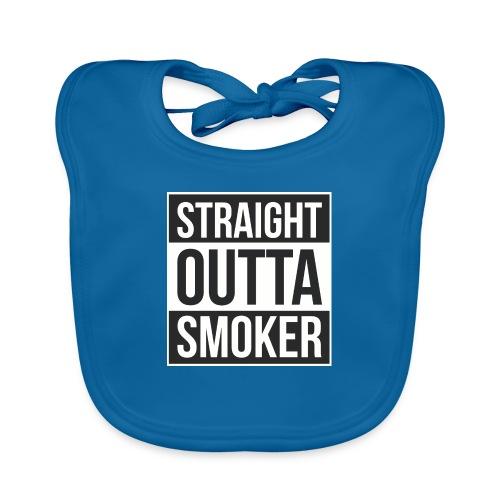 Straight Outta Smoker - Baby Bio-Lätzchen