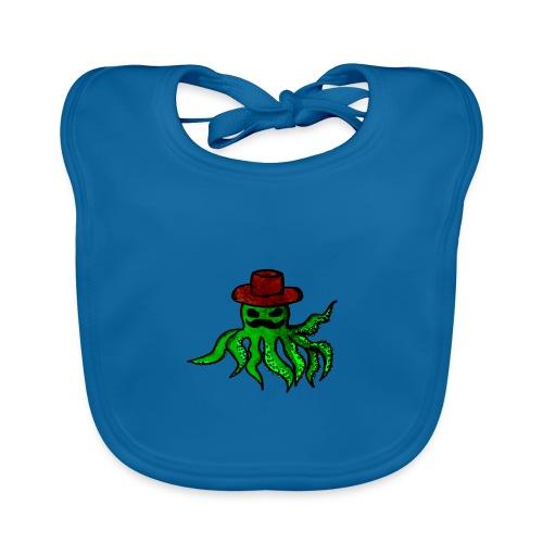 Polpo con cappello - Bavaglino ecologico per neonato