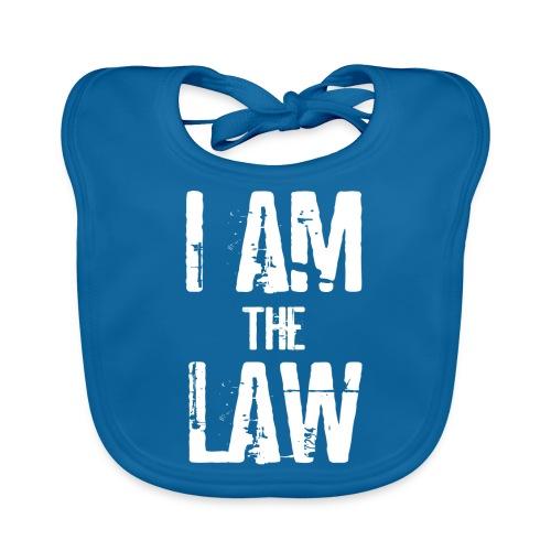 I AM THE LAW. Judge t-shirt per giudice o avvocato - Baby Organic Bib