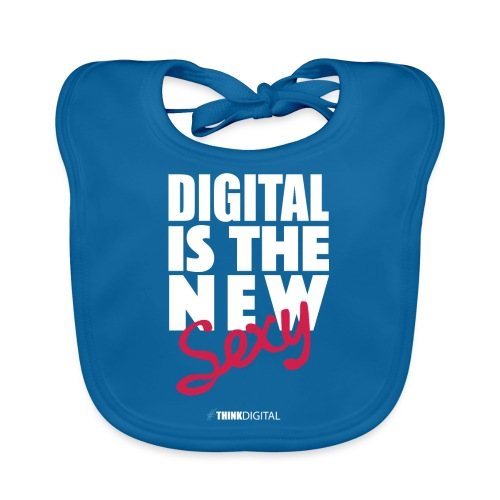 DIGITAL is the New Sexy - Bavaglino ecologico per neonato