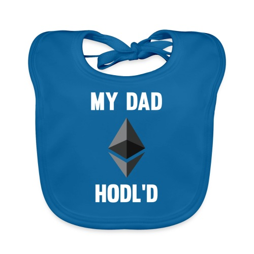 MY DAD HODL'D ETH - Bio-slabbetje voor baby's