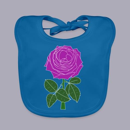 Landryn Design - Pink rose - Organic Baby Bibs