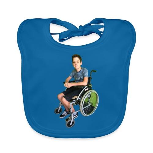 Michael Brown Rollstuhl (Version ein) - Baby Bio-Lätzchen