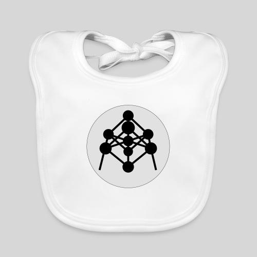 Atomium - Bavoir bio Bébé