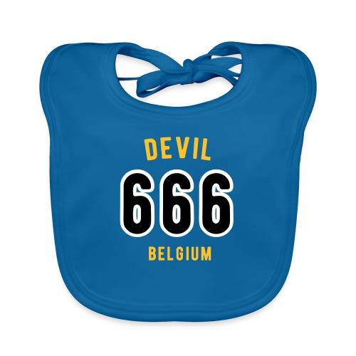 666 devil Belgium - Bavoir bio Bébé