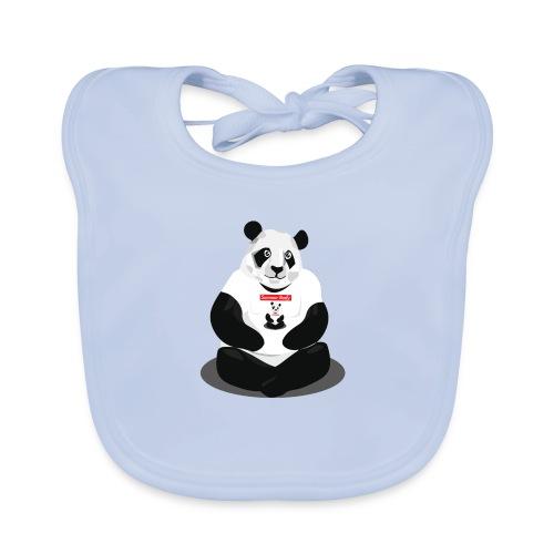 panda hd - Bavoir bio Bébé