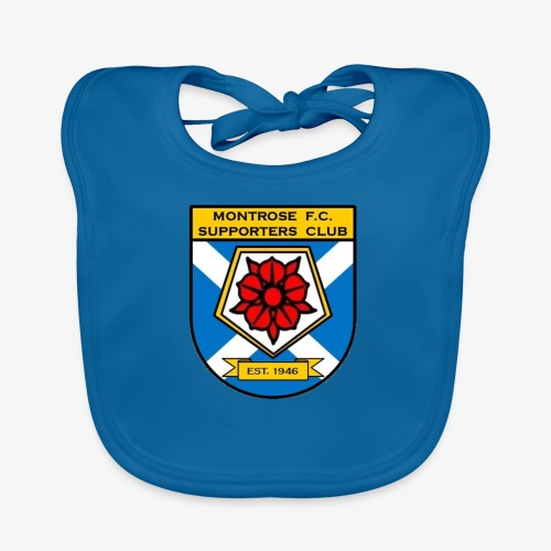 Montrose FC Supporters Club - Organic Baby Bibs