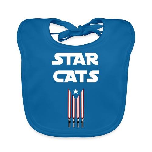 Star Cats - Babero ecológico bebé
