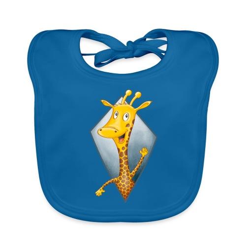 crazy Giraffe - Baby Bio-Lätzchen
