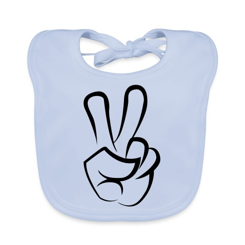 Peace - Bio-slabbetje voor baby's