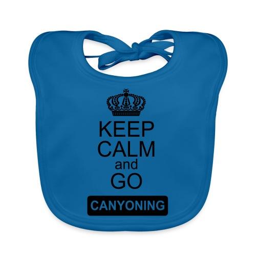 keep calm and go canyoning 2 - Baby Bio-Lätzchen