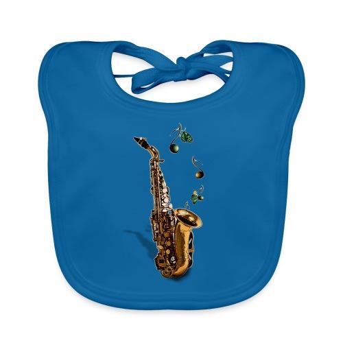 Saxophone - Bavoir bio Bébé