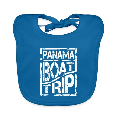 Panama Boat Trip - Baby Bio-Lätzchen