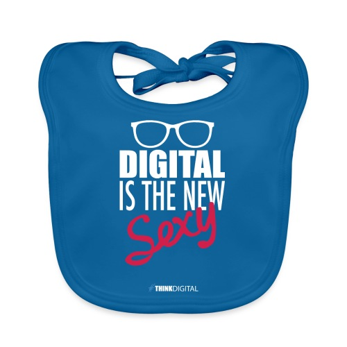 DIGITAL is the New Sexy - Lady - Bavaglino ecologico per neonato