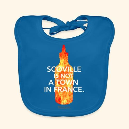Chili T Shirt Design Chilisauce Scoville France - Baby Bio-Lätzchen