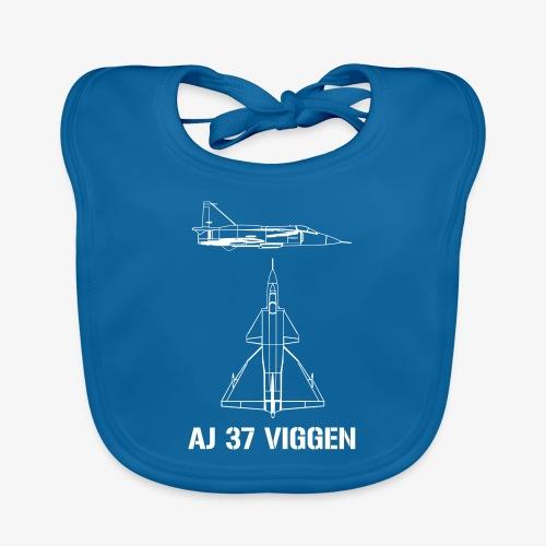 AJ 37 VIGGEN - Ekologisk babyhaklapp