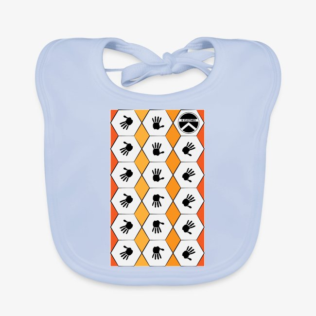 |K·CLOTHES| HEXAGON ESSENCE ORANGES & WHITE
