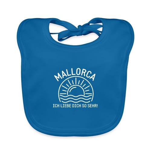 Mallorca Liebe - Das Design für echte Mallorcafans - Baby Bio-Lätzchen