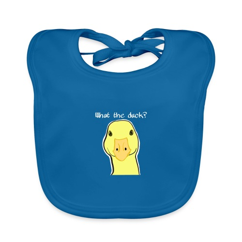 Duck you - Vauvan luomuruokalappu