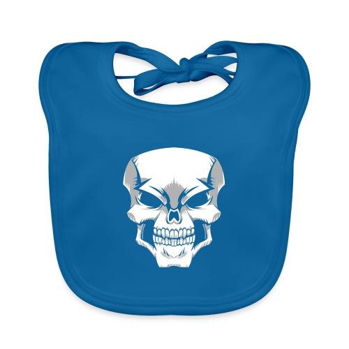 Skull - Babero de algodón orgánico para bebés