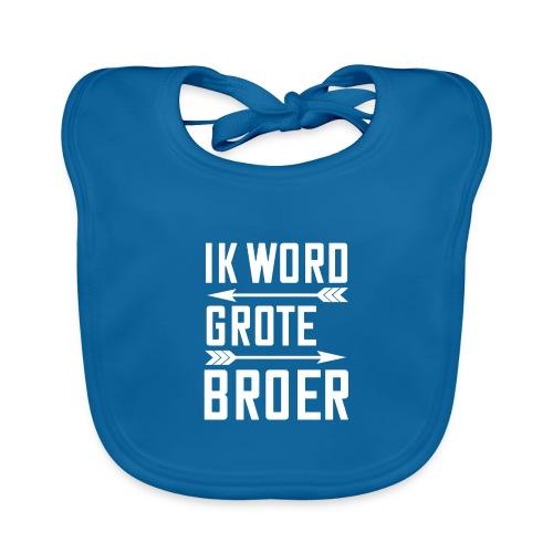 IK WORD GROTE BROER - Bio-slabbetje voor baby's