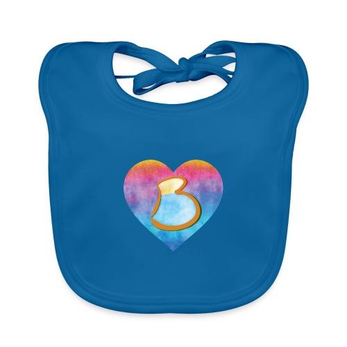 Be a B Heart - Organic Baby Bibs