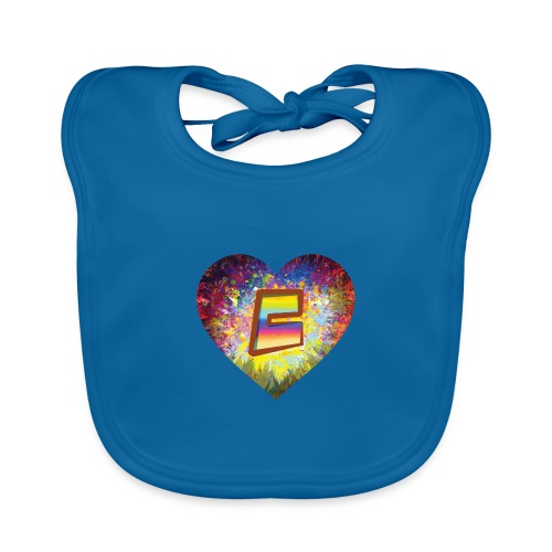 Be a 70th Heart with that special Popper Hippie B - Organic Baby Bibs