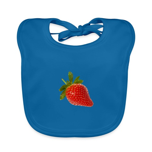 Erdbeere - Baby Bio-Lätzchen