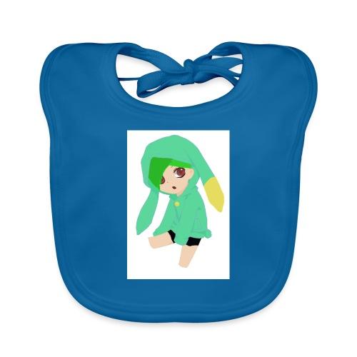 Green haired SkaiLaPie pillow - Baby Organic Bib