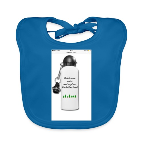 RocksAndSand adventure bottle - Baby Organic Bib